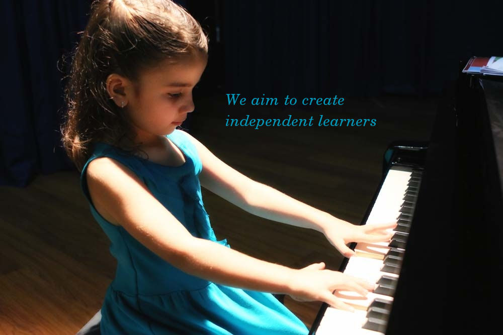 We aim to create independent learners